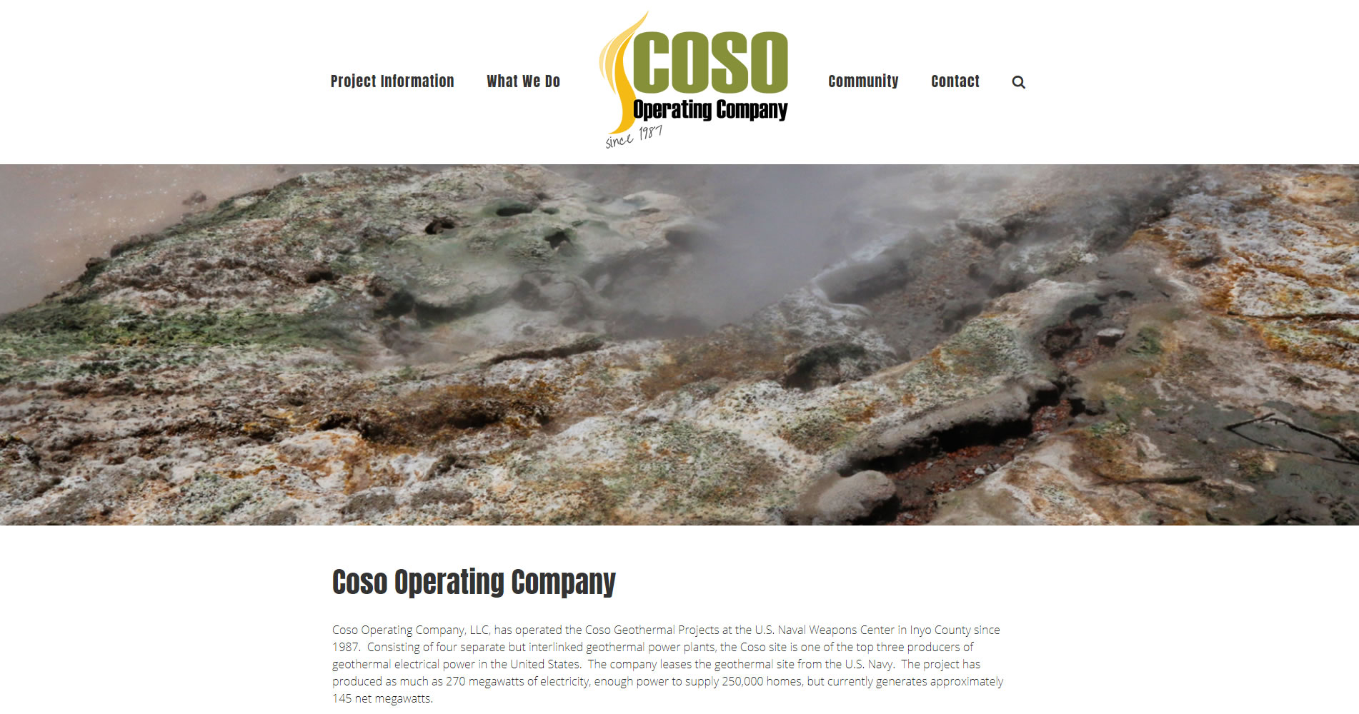 Coso Geothermal
